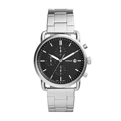 フォッシル 腕時計 メンズ FS5399 【送料無料】Fossil Men's The Commuter Quartz Watch with Stainless-Steel Strap, Silver, 22 (Model: FS5399)フォッシル 腕時計 メンズ FS5399