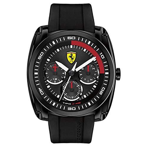 フェラーリ 腕時計 メンズ 0830320 Ferrari Tipo J-46 Black Dial Men's Watch 830320フェラーリ 腕時計 メンズ 0830320