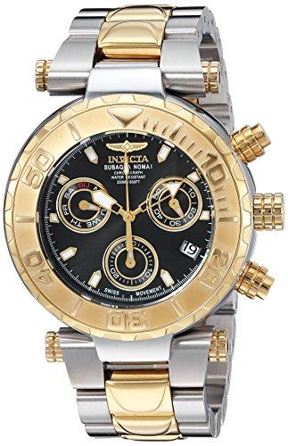 インヴィクタ インビクタ サブアクア 腕時計 メンズ 25803 【送料無料】Invicta Men's Subaqua Quartz Watch with Stainless-Steel Strap, Two Tone, 23.8 (Model: 25803)インヴィクタ インビクタ サブアクア 腕時計 メンズ 25803