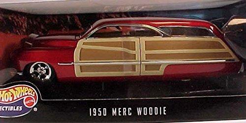 ホットウィール マテル ミニカー ホットウイール 【送料無料】Hot Wheels 1950 Merc Woodie 1:18ホットウィール マテル ミニカー ホットウイール