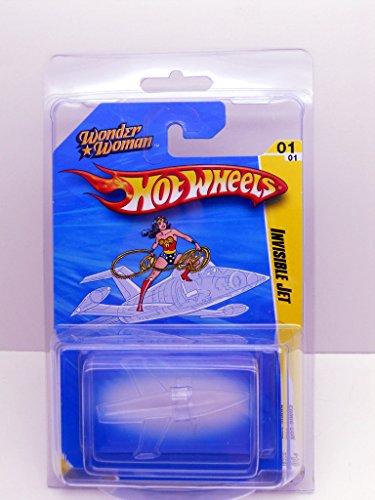 ホットウィール マテル ミニカー ホットウイール 【送料無料】Hot Wheels SDCC 2010 Wonder Woman Invisible Jet Vehicleホットウィール マテル ミニカー ホットウイール