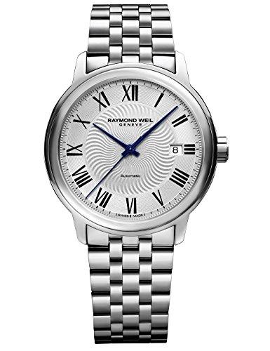 レイモンドウィル 腕時計 メンズ スイスの高級腕時計 2237-ST-00659 【送料無料】Raymond Weil Men's Maestro Swiss-Automatic Watch with Stainless-Steel Strap, Silver, 20 (Model: 2237-ST-レイモンドウィル 腕時計 メンズ スイスの高級腕時計 2237-ST-00659