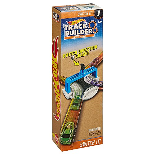 ホットウィール マテル ミニカー ホットウイール Hot Wheels Track Builder System - Switch It!ホットウィール マテル ミニカー ホットウイール