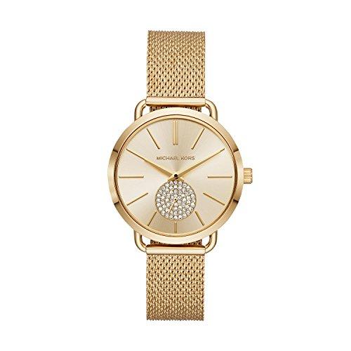 マイケルコース 腕時計 レディース マイケル・コース アメリカ直輸入 MK3844 【送料無料】Michael Kors Women's Portia Analog-Quartz Watch with Stainless-Steel Strap, Gold, 16 (Moマイケルコース 腕時計 レディース マイケル・コース アメリカ直輸入 MK3844