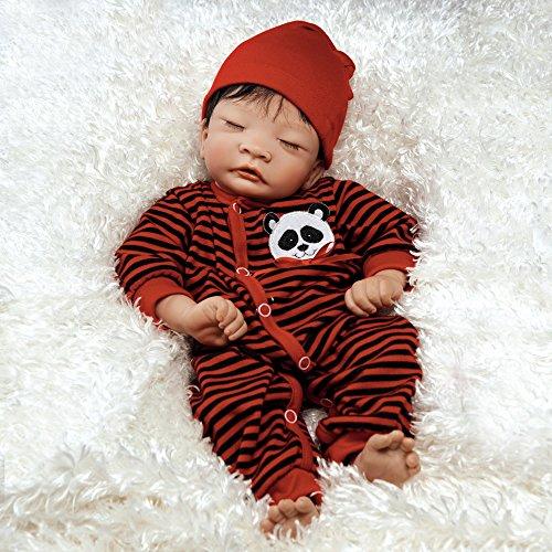 パラダイスギャラリーズ 赤ちゃん リアル 本物そっくり おままごと L210702H Paradise Galleries Lifelike Asian Reborn Baby Doll Panda Twin Boy, 17 inch Newborn, GentleTouch Vinyl & Weパラダイスギャラリーズ 赤ちゃん リアル 本物そっくり おままごと L210702H