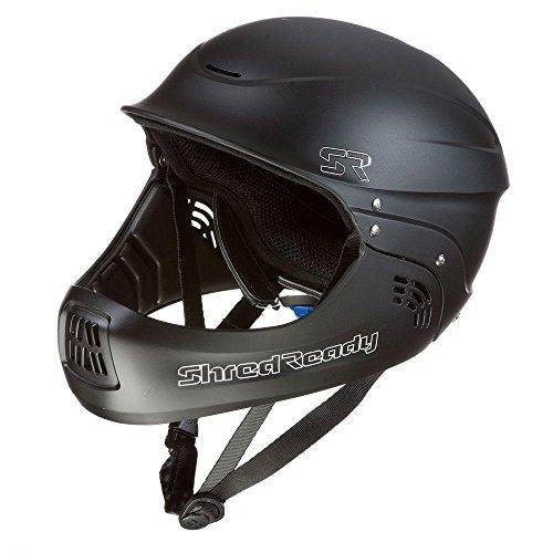 ウォーターヘルメット 安全 マリンスポーツ サーフィン ウェイクボード Shred Ready Shredy Ready Standard Fullface Helmet - Matte Blackウォーターヘルメット 安全 マリンスポーツ サーフィン ウェイクボード Shred Ready