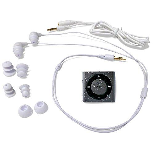 海外輸入ヘッドホン ヘッドフォン イヤホン 海外 輸入 WiPodGrayBuds13 Underwater Audio 100% Waterproofing compatible with iPod Shuffle, Swimbuds, AquaGuard, iFloatie, and Fitgoo (Space G海外輸入ヘッドホン ヘッドフォン イヤホン 海外 輸入 WiPodGrayBuds13