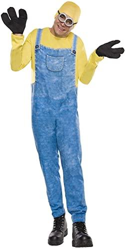 コスプレ衣装 コスチューム ミニオンズ 810464 【送料無料】Rubie's Men's Movie Minion Costume, Bob, Extra Largeコスプレ衣装 コスチューム ミニオンズ 810464