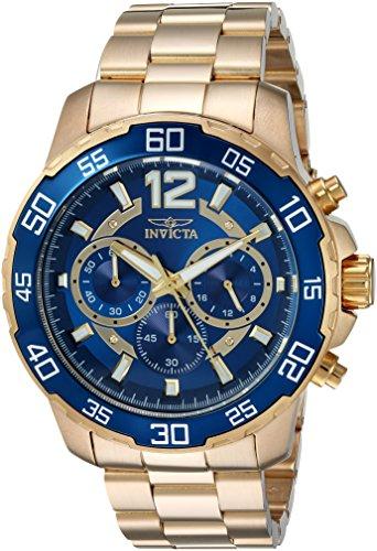 インヴィクタ インビクタ プロダイバー 腕時計 メンズ 22714 Invicta Men's Pro Diver Quartz Watch with Stainless-Steel Strap, Gold, 22 (Model: 22714)インヴィクタ インビクタ プロダイバー 腕時計 メンズ 22714