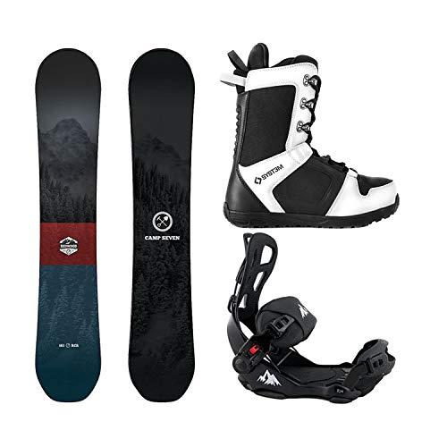 スノーボード ウィンタースポーツ キャンプセブン 2017年モデル2018年モデル多数 Camp Seven Package Redwood Snowboard 156 cm-System LTX Binding Large-System APX Boot 9スノーボード ウィンタースポーツ キャンプセブン 2017年モデル2018年モデル多数
