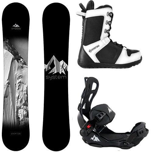 スノーボード ウィンタースポーツ システム 2017年モデル2018年モデル多数 【送料無料】System Package Timeless Snowboard 156 cm LTX Binding Large APX Snowboard Boots 12スノーボード ウィンタースポーツ システム 2017年モデル2018年モデル多数