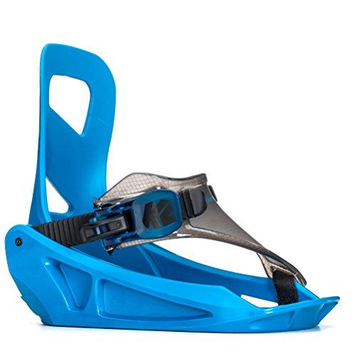 スノーボード ケーツー ビンディング バインディング ウィンタースポーツ K2 Mini Turbo Snowboard Bindings 2018 - Kid's Blue Smallスノーボード ケーツー ビンディング バインディング ウィンタースポーツ
