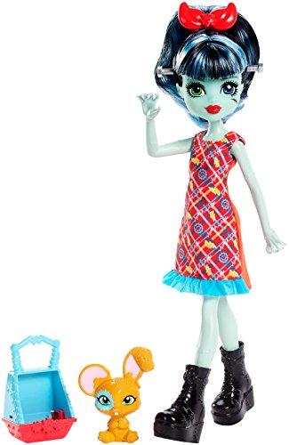 モンスターハイ 人形 ドール FND58 【送料無料】Monster High Monster Family Alivia Stein & Gigawatt Doll + Petモンスターハイ 人形 ドール FND58