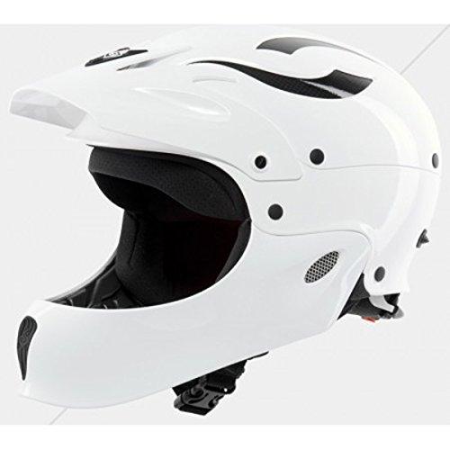 ウォーターヘルメット 安全 マリンスポーツ サーフィン ウェイクボード Sweet Protection Rocker Fullface Helmet: L/XL - Gloss Whiteウォーターヘルメット 安全 マリンスポーツ サーフィン ウェイクボード