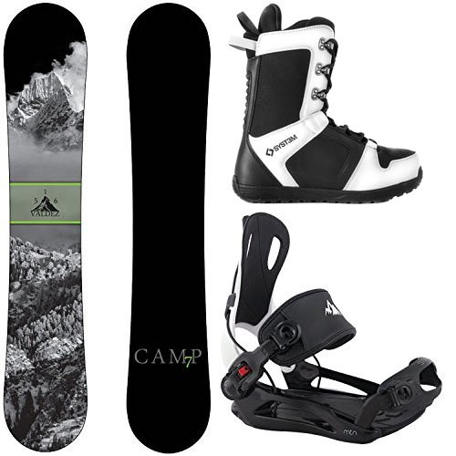 スノーボード ウィンタースポーツ キャンプセブン 2017年モデル2018年モデル多数 Camp Seven Package Valdez Snowboard 159 cm-System MTN Binding XL-System APX Snowboard Boots 12スノーボード ウィンタースポーツ キャンプセブン 2017年モデル2018年モデル多数