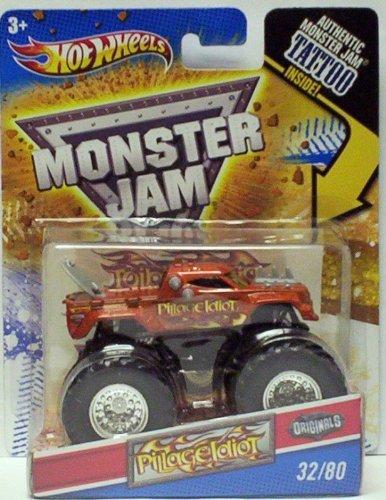 ホットウィール マテル ミニカー ホットウイール 2011 Hot Wheels Monster Jam Originals #32/80 PILLAGE IDIOT 1:64 Scale Collectible Truck with Monster Jam TATTOOホットウィール マテル ミニカー ホットウイール