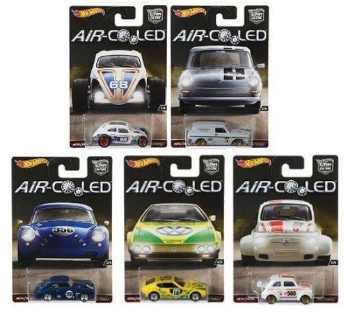 ホットウィール マテル ミニカー ホットウイール 【送料無料】Hot Wheels New 1:64 CAR Culture AIR-Cooled CASE H Assortment Set Diecast Model Car Set of 5 Carsホットウィール マテル ミニカー ホットウイール