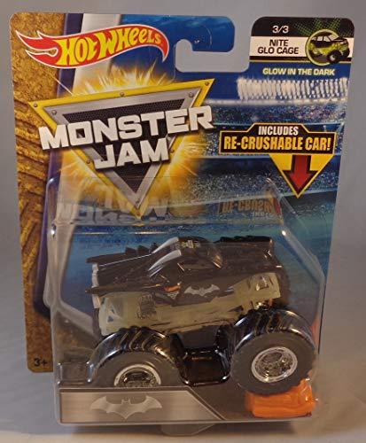 ホットウィール マテル ミニカー ホットウイール Hot Wheels Monster Jam 1:64 Scale Truck - Batmanホットウィール マテル ミニカー ホットウイール