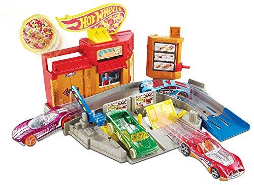 ホットウィール マテル ミニカー ホットウイール DJD73 Hot Wheels Poppin' Pizza Shop Playsetホットウィール マテル ミニカー ホットウイール DJD73