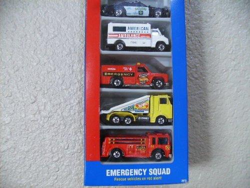 ホットウィール マテル ミニカー ホットウイール 【送料無料】Hot Wheels Emergency Squad Gift Pack 1992 #3870ホットウィール マテル ミニカー ホットウイール