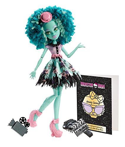 モンスターハイ 人形 ドール BDD86 【送料無料】Monster High Frights, Camera, Action! Honey Swamp Dollモンスターハイ 人形 ドール BDD86