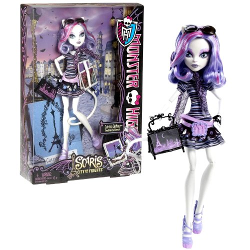 モンスターハイ 人形 ドール Mattel Year 2012 Monster High Scaris City of Frights Series 12 Inch Doll - Catrine DeMew