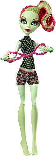 モンスターハイ 人形 ドール CHW77 【送料無料】Monster High Fangtastic Fitness Venus McFlytrap Dollモンスターハイ 人形 ドール CHW77