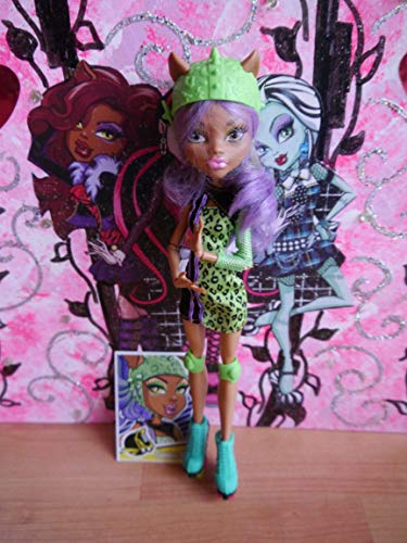 モンスターハイ 人形 ドール Y8350 【送料無料】Mattel Monster High Skultimate Roller Maze Doll 12 - Clawdeen Wolfモンスターハイ 人形 ドール Y8350