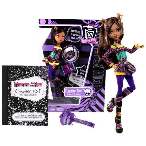モンスターハイ 人形 ドール V7990 Mattel Year 2010 Monster High Diary Series 11 Inch Doll - Clawdeen Wolf (V7990)