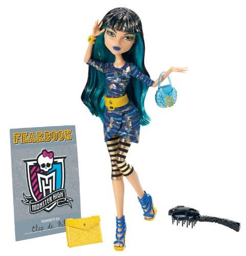 モンスターハイ 人形 ドール Y4313 【送料無料】Monster High Picture Day Cleo De Nile Dollモンスターハイ 人形 ドール Y4313