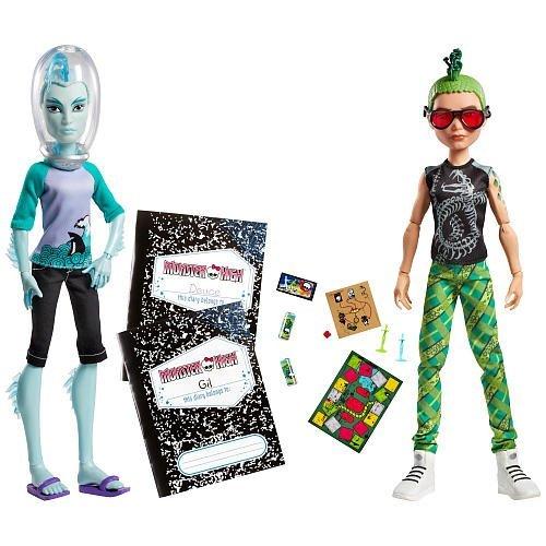 モンスターハイ 人形 ドール Monster High Mansters Gil Webber Deuce Gorgon Dolls, 2packモンスターハイ 人形 ドール