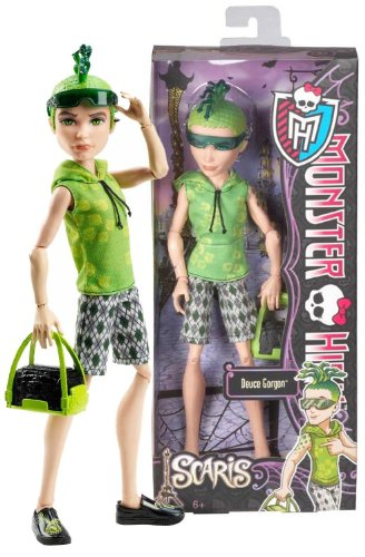 モンスターハイ 人形 ドール Deuce Gorgon: Son of Medusa ~ 10.5 'Monster High Monster High Scaris - City of Frights Figure figure die cast doll ( parallel import )モンスターハイ 人形 ドール