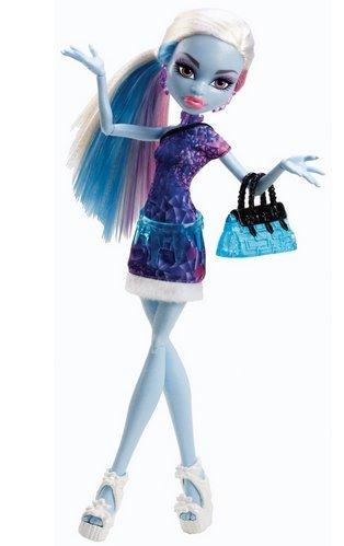 モンスターハイ 人形 ドール 【送料無料】WE-R-KIDS Game / Play Monster High Basic Travel Abbey Bominable Doll, bominable, Doll, Review, Monster, high Toy / Child / Kidモンスターハイ 人形 ドール