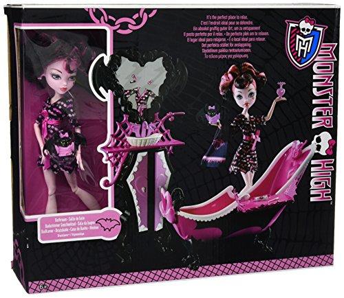 モンスターハイ 人形 ドール 1092882 Monster High Draculaura Powder Room Playset with Exclusive Dollモンスターハイ 人形 ドール 1092882