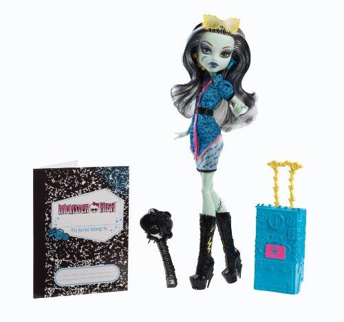モンスターハイ 人形 ドール Y0380 【送料無料】Monster High Travel Scaris Frankie Stein Dollモンスターハイ 人形 ドール Y0380