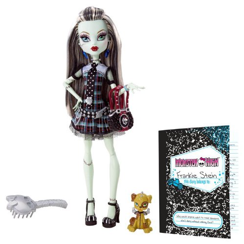 モンスターハイ 人形 ドール N5948 Monster High Frankie Stein Doll with Watzit petモンスターハイ 人形 ドール N5948
