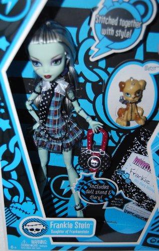 モンスターハイ 人形 ドール 【送料無料】Monster High Frankie Stein Doll Daughter of Frankensteinモンスターハイ 人形 ドール