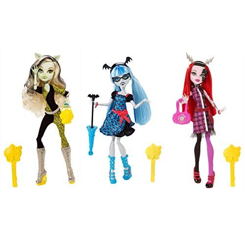 モンスターハイ 人形 ドール Monster High Freaky Fusion Frankie Stein, Ghoulia Yelps & Operetta Set of 3 Dollsモンスターハイ 人形 ドール