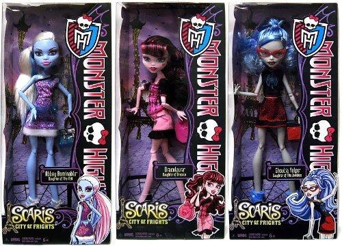 モンスターハイ 人形 ドール 【送料無料】Monster High Scaris City of Frights Set of 3 10.5-Inch Dollsモンスターハイ 人形 ドール