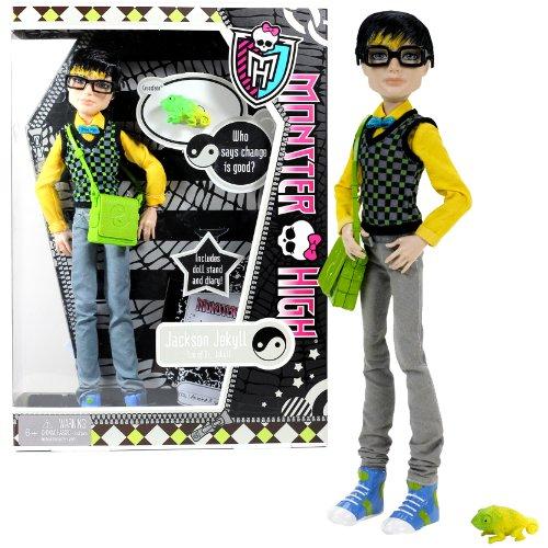 モンスターハイ 人形 ドール X3649 【送料無料】Mattel Year 2011 Monster High Diary Series 12 Inch Doll - JACKSON JEKYLL