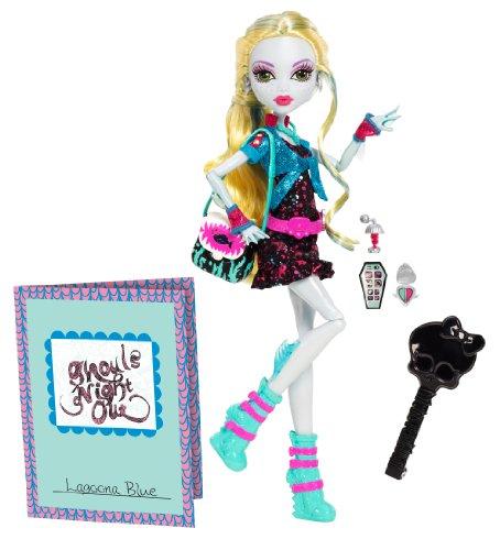 モンスターハイ 人形 ドール BBC11 【送料無料】Monster High Ghouls Night Out Doll Lagoona Blue Dollモンスターハイ 人形 ドール BBC11