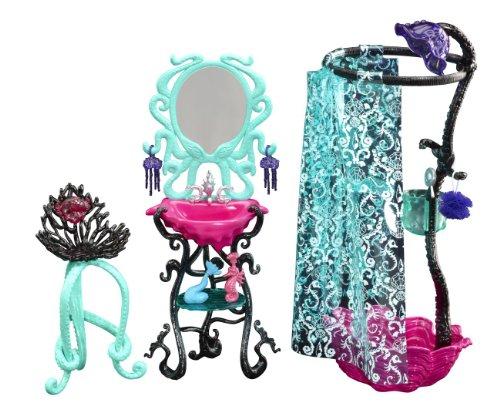 モンスターハイ 人形 ドール Y7715 Monster High Lagoona Blue Shower Playsetモンスターハイ 人形 ドール Y7715