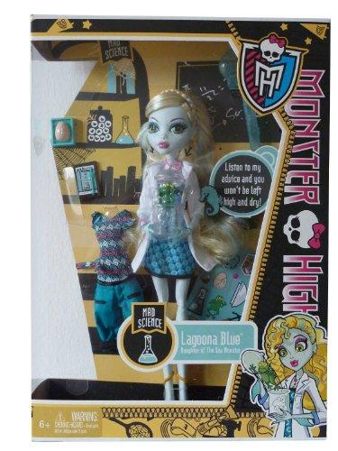 モンスターハイ 人形 ドール Y4687 Monster High Lagoona Blue Mad Science Classrom Setモンスターハイ 人形 ドール Y4687