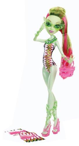モンスターハイ 人形 ドール Y7304 【送料無料】Monster High Beach Beasties Venus McFlytrap Dollモンスターハイ 人形 ドール Y7304