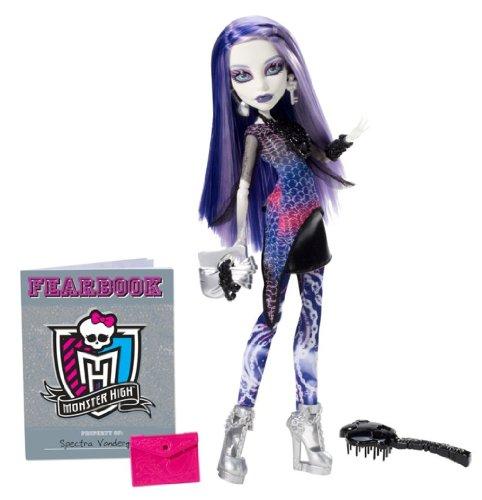 モンスターハイ 人形 ドール Y4312 Monster High Picture Day Spectra Vondergeist Dollモンスターハイ 人形 ドール Y4312