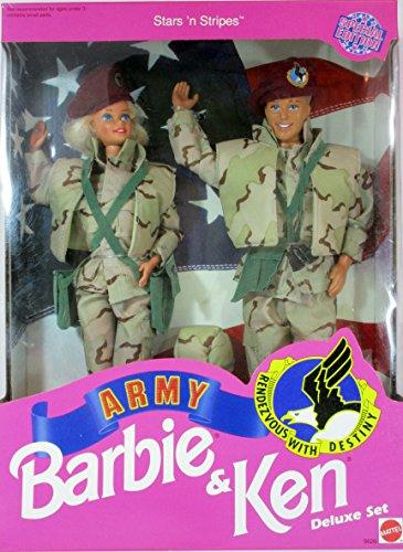 バービー バービー人形 ケン Ken 5626 Barbie Star 'N Stripes ARMY Ken Deluxe Setバービー バービー人形 ケン Ken 5626