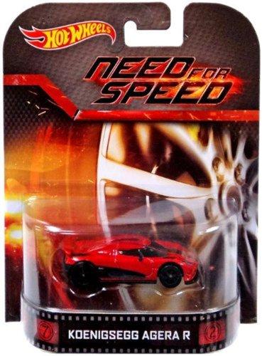 ホットウィール マテル ミニカー ホットウイール 【送料無料】Hot Wheels Hot Wheels Entertainment Vehicle - Koenigsegg Agera R - Need for Speed Die Cast Vehicleホットウィール マテル ミニカー ホットウイール
