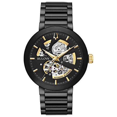 ブローバ 腕時計 メンズ Bulova Men's Modern - 98A203 Black One Sizeブローバ 腕時計 メンズ