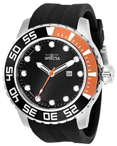 インヴィクタ インビクタ プロダイバー 腕時計 メンズ 23473 Invicta Men's Pro Diver Stainless Steel Quartz Watch with Silicone Strap, Grey, 25 (Model: 23473インヴィクタ インビクタ プロダイバー 腕時計 メンズ 23473