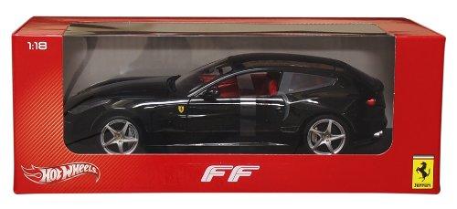 愛用 ホットウィール X5526 マテル ミニカー X5526 ホットウイール X5526【送料無料】Hot Black wheels X5526 Ferrari FF Black 1/18 Diecast Car Model by Hotwheelsホットウィール マテル ミニカー ホットウイール X5526, SHOETIME:eb89d609 --- independentescortsdelhi.in
